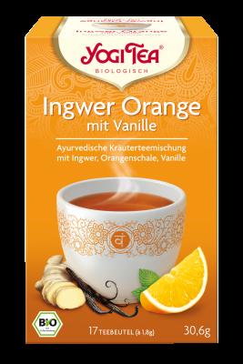 Ingwer Orange mit Vanille