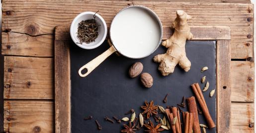 Pot with YOGI TEA® Chai Tea