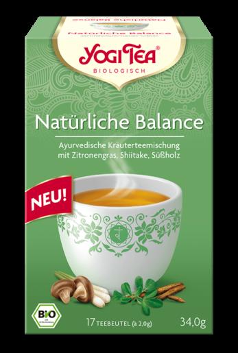 Yogi Tea Natürliche Balance Packshot
