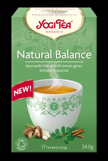 Yogi Tea Natural Balance Packshot