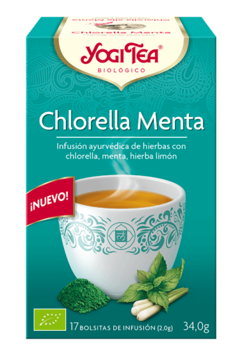 YOGI TEA® Chlorella Menta