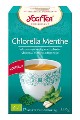 Chlorella Menthe