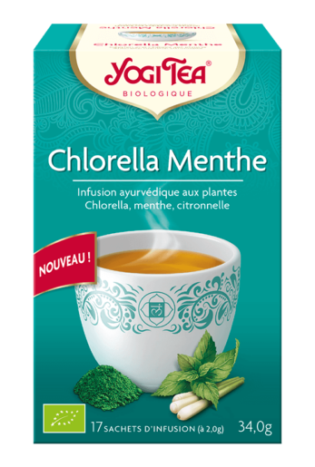 YOGI TEA® Chlorella Menthe