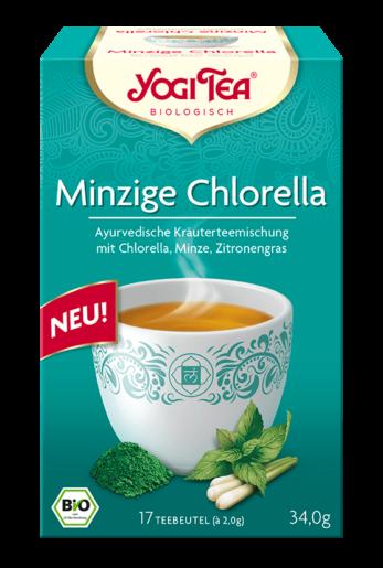 Yogi Tea Minzige Chlorella Packshot